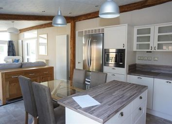 Thumbnail 2 bed lodge for sale in Waveney Valley Lakes, Wortwell, Harleston