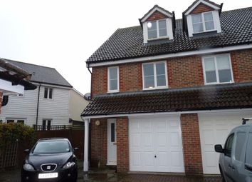 Thumbnail 3 bed terraced house to rent in Tanners Mead, Edenbridge