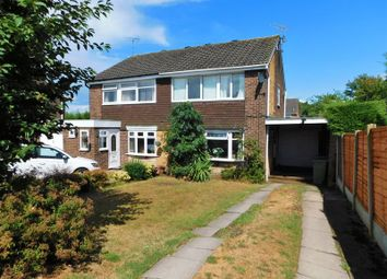 Thumbnail 3 bed semi-detached house for sale in Holme Rise, Penkridge, Stafford
