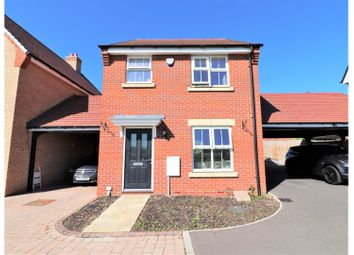 Thumbnail 3 bed link-detached house for sale in Holbrook Grove, Biggleswade
