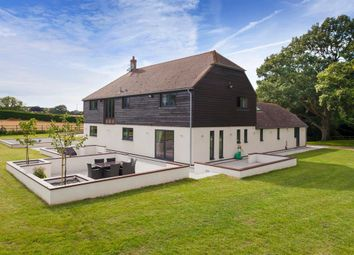 Thumbnail 4 bedroom detached house for sale in Agester Lane, Denton, Canterbury, Kent