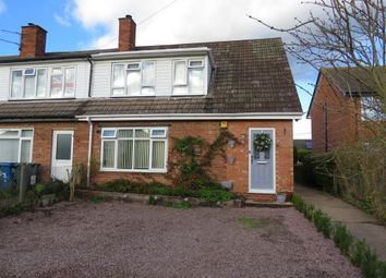 Thumbnail 3 bed town house for sale in Croxall Road, Edingale, Tamworth
