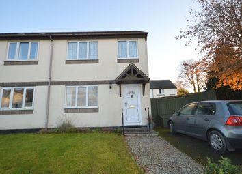 3 bed semi-detached house for sale in Crocken Tor Road, Okehampton EX20