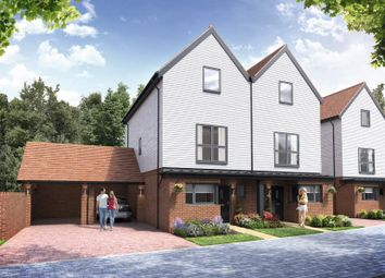 Thumbnail 3 bed detached house for sale in Chilmington Lakes, Chilmington, Ashford, Kent