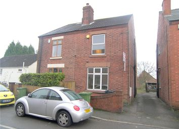 Thumbnail 3 bed semi-detached house to rent in South Street, Riddings, Alfreton