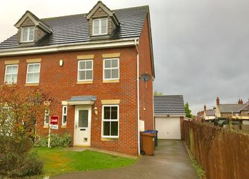 Thumbnail 3 bed semi-detached house for sale in Jubilee Drive, Earl Shilton, Leicester