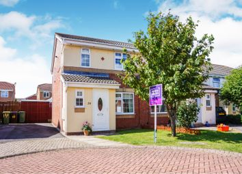 Thumbnail 3 bed semi-detached house for sale in Belgrave Road, Scartho Top
