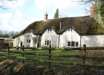 Thumbnail 3 bed cottage to rent in Newton Stacey Lane, Stockbridge, Hampshire