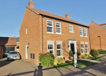 Thumbnail 4 bed detached house for sale in Hart Close, Longstanton, Cambridge
