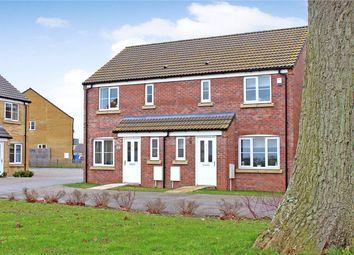 Thumbnail 3 bed semi-detached house for sale in Hunton Road, Oulton, Lowestoft, Suffolk