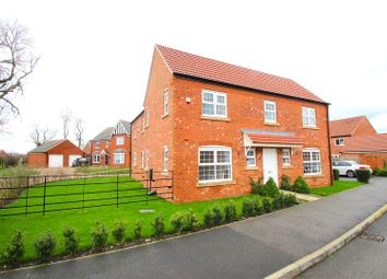 Thumbnail 4 bed detached house for sale in Bosworth Way, Leicester Forest East, Leicester