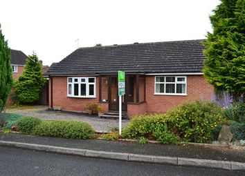 Thumbnail 2 bed detached bungalow for sale in Annefield Close, Market Drayton