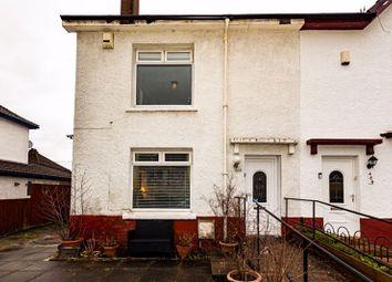 Thumbnail End terrace house for sale in Allison Street, Glasgow