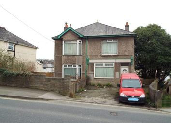 Thumbnail 4 bed detached house for sale in 34 & 34A Pomphlett Road, Plymstock, Plymouth