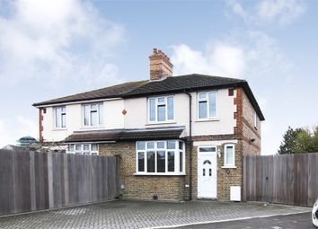 Thumbnail 3 bed semi-detached house for sale in Priors Croft, Walthamstow, London