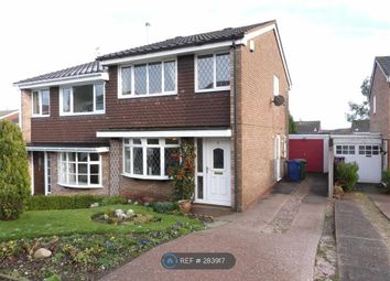 Thumbnail 3 bed semi-detached house to rent in Midhurst Drive, Hednesford