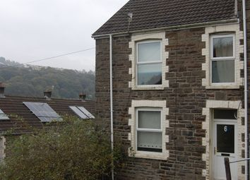 Thumbnail 3 bed end terrace house for sale in Upper Cross Street, Tirphil, New Tredegar