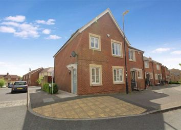 Thumbnail 3 bed end terrace house for sale in Denby Road, Redhouse, Swindon