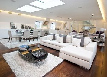 Thumbnail 3 bed flat to rent in Boydell Court, St Johns Wood NW8,