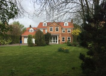 Thumbnail 6 bed detached house for sale in Tranby Lane, Swanland, North Ferriby