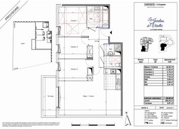 Thumbnail 3 bed apartment for sale in 94420, Le Plessis-Trévise, Fr