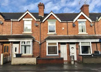 Thumbnail 2 bed terraced house for sale in Kimberley Road, Newcastle Under Lyme, Staffs