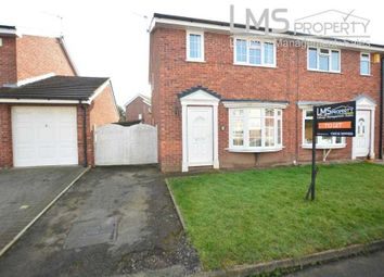 Thumbnail 3 bedroom semi-detached house to rent in Mallard Way, Darnhall, Winsford