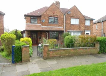 Thumbnail 3 bedroom semi-detached house for sale in Selworthy Drive, Crewe, Cheshire