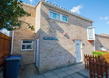 Thumbnail 3 bed end terrace house for sale in Wellum Close, Haverhill