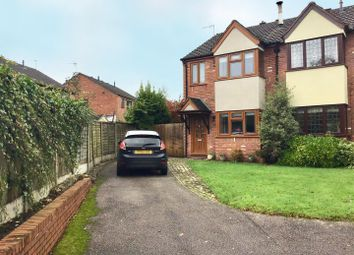 Thumbnail 3 bed semi-detached house for sale in Chetwynd Park, Cannock