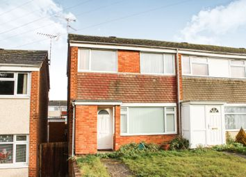 Thumbnail 3 bed end terrace house for sale in Collingwood Way, Southbrook, Daventry