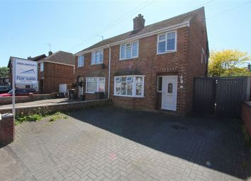 Thumbnail 3 bed semi-detached house for sale in Chantry Road, Kempston, Bedford
