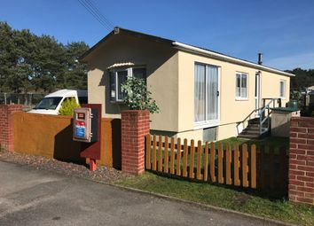 Thumbnail 2 bedroom mobile/park home for sale in Hogmoor Road, Whitehill, Bordon