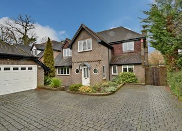 Thumbnail 5 bed detached house to rent in Hanyards Lane, Cuffley