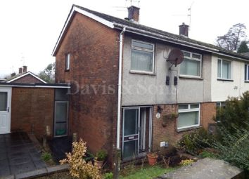 Thumbnail 3 bed semi-detached house for sale in Malpas Road, Newport, Gwent.