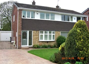 Thumbnail 3 bed semi-detached house to rent in Hall Royd Walk, Silkstone Common, Barnsley