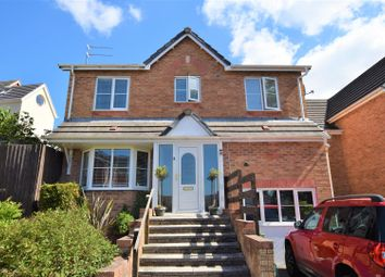 Thumbnail 4 bed detached house for sale in Cudd Y Coed, Barry