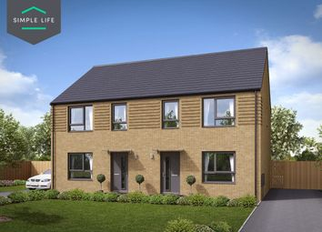 Thumbnail 3 bed semi-detached house to rent in Plot 172, Maple, 274 Queen Mary Rd, Sheffield