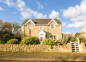 Thumbnail 4 bed detached house for sale in West End, Shilbottle, Alnwick