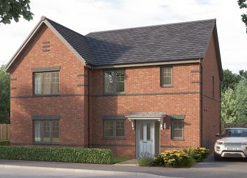 "Thumbnail 3 bed semi-detached house for sale in ""The Bampton"" at Etwall Road, Mickleover, Derby"