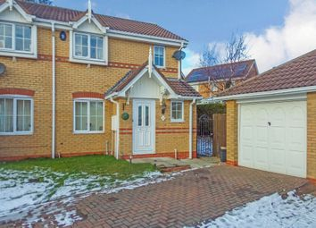 Thumbnail 3 bed semi-detached house for sale in Fairfields, Alnwick
