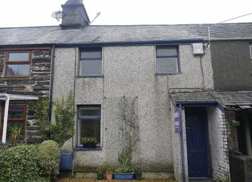 Thumbnail 2 bed terraced house for sale in Penrhyndeudraeth