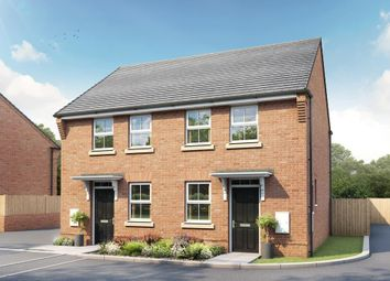 "Thumbnail 2 bed end terrace house for sale in ""Wilford"" at Hawthorn Road, Melksham"