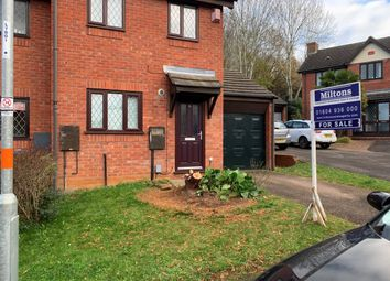 Thumbnail 2 bed semi-detached house for sale in Gresham Drive, West Hunsbury, Northampton