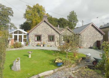 Thumbnail 3 bed detached bungalow for sale in Ger Yr Ywen, Llanerfyl, Welshpool, Powys