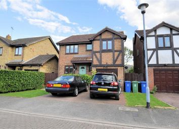 Thumbnail 4 bed detached house for sale in Sarsby Drive, Wraysbury, Berkshire