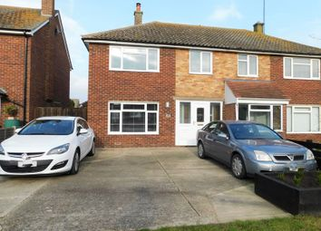 3 bed semi-detached house for sale in Kreswell Grove, Dovercourt, Harwich, Essex CO12