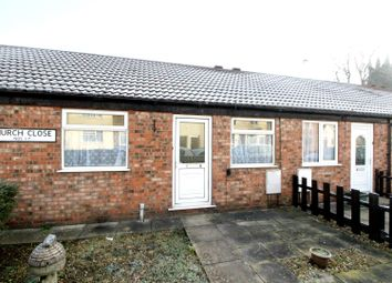 Thumbnail 1 bedroom bungalow for sale in Church Close, Westgate, Driffield