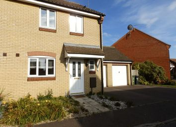 Thumbnail 3 bed semi-detached house to rent in Horsley Drive, Gorleston, Great Yarmouth