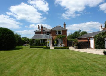 Thumbnail 4 bed detached house for sale in Wolverton Common, Tadley, Hampshire